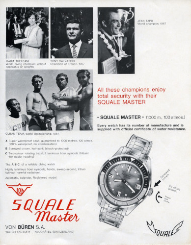 Squale History - Champion Divers
