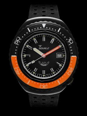 Squale 101 atmos 2002 - Orange/Black Black PVD
