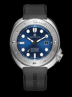 Crafter Blue Hyperion Ocean 600m Dive Watch - Blue