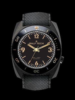 Ralf Tech WRB First Edition Black Dive Watch