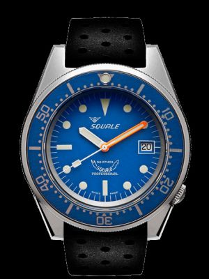Squale 50 atmos 1521 Blue Blasted