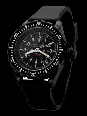 Marathon Anthracite GSAR Search and Rescue Dive Watch