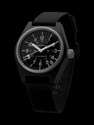 Marathon GPQ-Date Field Watch - Black