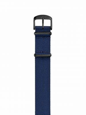 Damasko Nylon Nato Strap - Black Buckle