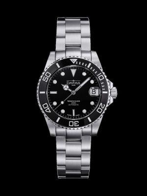 Davosa Ternos Medium Black Trialink Dive Watch