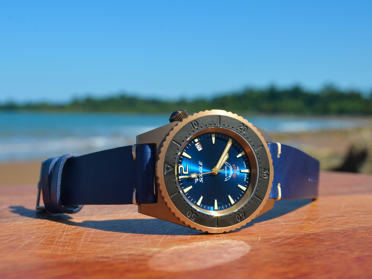Squale 1521 Bronze Blue Limited Edition - 50 atmos