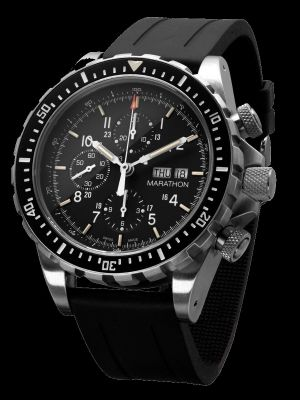 Marathon CSAR Search and Rescue Pilot/Dive Watch