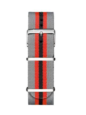 Davosa Grey-Red Nylon Strap