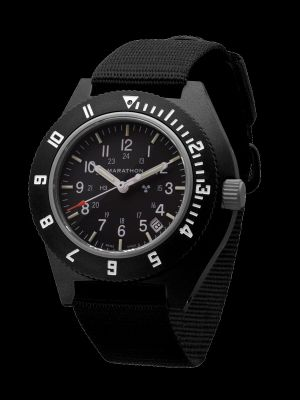 Marathon Pilot Navigator Watch with Date - Black NGM