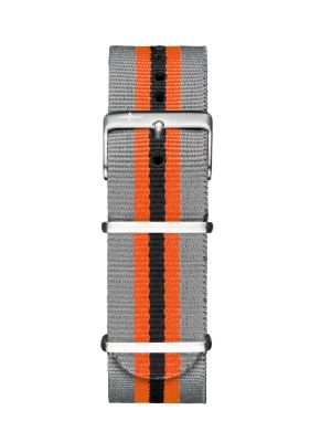 Davosa Grey-Orange Nylon Strap