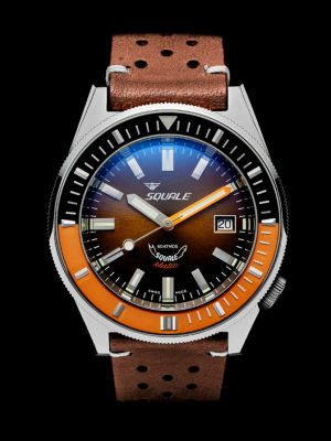 Squale 60 atmos Squalematic Brown