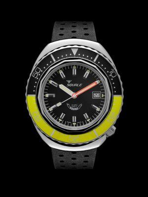 Squale 101 atmos 2002 - Yellow/Black Polished
