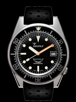 Squale 50 atmos 1521 Black Blasted