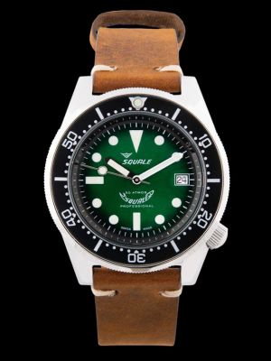 Squale 50 atmos 1521 Green Professional