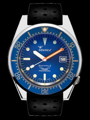 Squale 50 atmos 1521 Blue Polished