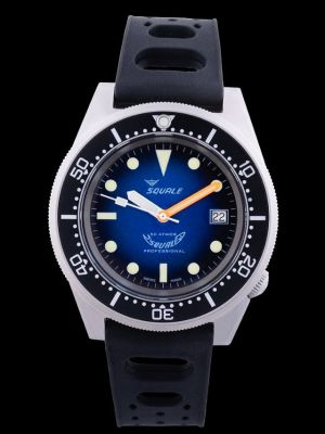 Squale 50 atmos 1521 Blue Soleil Blasted