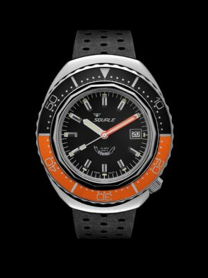 Squale 101 atmos 2002 - Orange/Black Polished