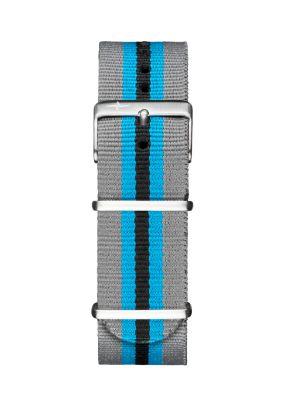 Davosa Grey-Blue Nylon Strap
