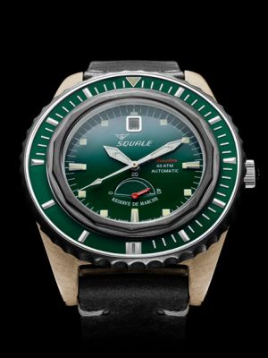 Squale Master Professional - Green Bronze
