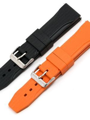Marathon Textured Rubber Strap - 22mm
