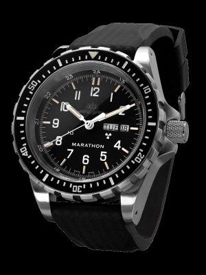 Marathon JDD Search and Rescue Dive Watch - YAMAM Markings