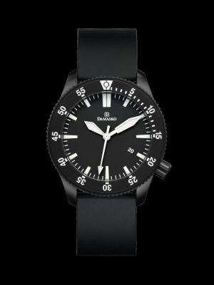 Damasko DSub50 Black Dive Watch